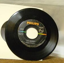 PAUL & PAUYLA FIRST QUARREL / SCHOOL IS THRU 45 RPM RECORD