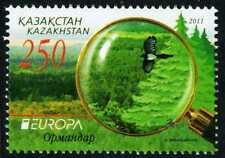 2011. Kazakhstan. Europe-CEPT. Forests. MNH. Stamp. Sc.639