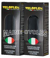 Veloflex Corsa clincher 700 X 25 all black 2 tires (1 pair)