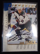 Juha Ylonen 1998 Pinnacle Be A Player Autograph