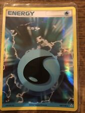 POKEMON EX HOLON PHANTOMS 107/110 WATER ENERGY HOLO RARE out of print