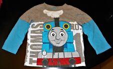 """NEW"" Thomas the Tank Engine & Friends ~ GRAY & BLUE ~ SHIRT Boy's 12M 12 Months"