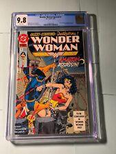 Wonder Woman Special #1 CGC 9.8 1992 DC Deathstroke HIGH GRADE