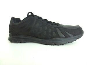 SAFE T STEP Women's Shoes Slip Resistant Black Leather Work Size US 11 [A21]