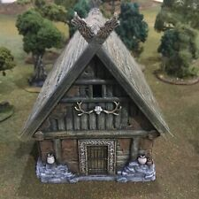 Barbarian House 28mm Tabletop Games Dwarven Forge D&D Terrain