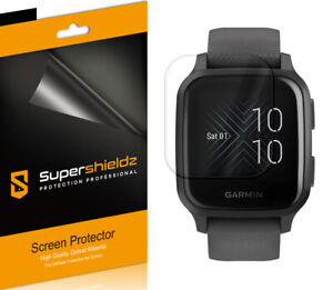 3X Supershieldz Clear Full Coverage Screen Protector for Garmin Venu Sq