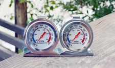 HOAU Stainless Steel Temperature Oven Thermometer Gauge Kitchen Food Meat Dial