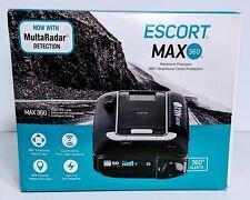 ESCORT MAX360 Laser Radar Detector GPS Directional Alerts Bluetooth  Voice Alert