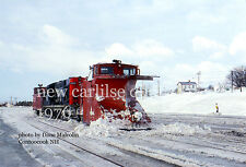 Canadian National Rwy     New Carlilse station Quebec 1976   Gaspe Peninsula 3