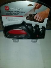 Wusthof Precision Edge 2-Stage Knife / Blade Sharpener new in original packaging