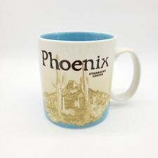 Starbucks Phoenix Coffee Mug Cup City Collector Series 2012 Blue 16oz EUC