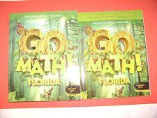 Go Math! Florida Student Edition & Practice Book Grade 1 (Common Core Edition)