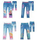Girls Disney Frozen Princess & Peppa Pig Printed Leggings New Gift