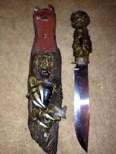 """Exotic 8"""" S.S. Blade With Shesth"""