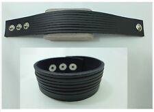 Lederarmband, Herrenarmband Leder Armband Biker-Armband, verstellbar TopQualität