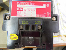 Square D Lighting Contactor 100 amp, 480 volt coil, 3 phase
