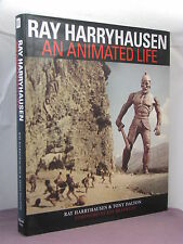 1st US, signed by 2(RH + Ray Bradbury), Ray Harryhausen: An Animated Life (2004)