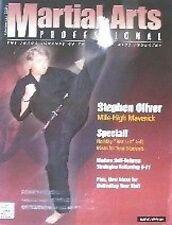 12/01 MARTIAL ARTS PROFESSIONAL STEPHEN OLIVER BLACK BELT KARATE KUNG FU