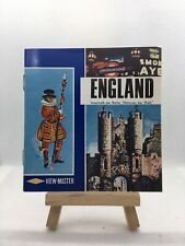 3 View Master Reels - England - C320-D - 🎞️