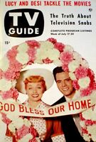 TV Guide 1953 Lucille Ball Desi Arnaz I Love Lucy Long Long Trailer NM/MT COA