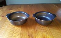 Lot of 2 /  Lugged Cereal Bowls / ARABIA Finland RUSKA ULLA PROCOPE