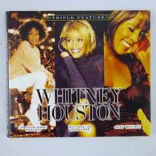 Whitney Houston, Triple Feature (CD, Nov-2010, 3 Discs, BMG (distributor))