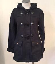 Obey Women's Duffle Coat Paddington Black Size S NWT Shepard Fairey Sherpa