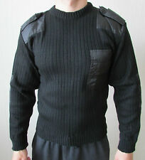Genuine ALL SIZES Russian Police Army Officer Sweater Black Uniform Original