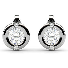 MILLIONAIRE CIRCLE STUD EARRINGS FT. CRYSTALS FROM SWAROVSKI KCE865WG