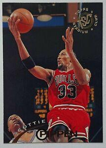 Carte Basketball NBA Topps Stadium Club 1994-95 #33 Scottie Pippen Chicago Bulls