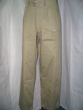 WW2 British Khaki Drill KD battledress trousers   size M