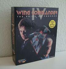 Wing Commander IV 4 | Big Box | inkl. Anleitung und Geschichte | DOS | Sehr Gut