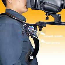 Hands Free Shoulder Mount Support Pad Stabilizer for Video DSLR Camera Camcorder