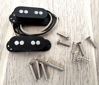 "Set de Micros noirs ""Mustang Vintage"" pour Basse Mustang, Made in France"
