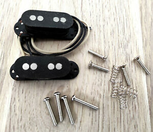 """Set de Micros noirs """"Mustang Vintage"""" pour Basse Mustang, Made in France"""