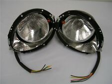 1937 1938 1939 Ford Headlights & Buckets w/ Turn Signal