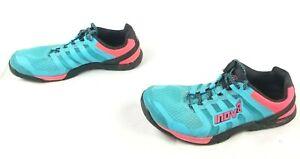 Inov-8 F-Lite 235 Blue Orange Black Running Shoes US Men's 8.5, Women's 10