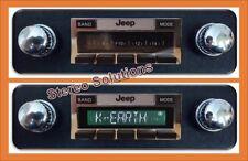 1978-1986 Jeep CJ 5, 7, classic look 300 watt AM FM Stereo, USB memory, aux in.
