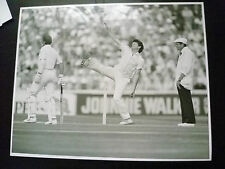 Cricket Press Photo-MIKE WHITNEY,GEOFF BOYCOTT in 1981 England v Aust Test Match