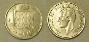 Monaco 100 Francs 1956