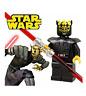 NEW STAR WARS DARTH MAUL BROTHER SAVAGE OPRESS FITS LEGO MINIFIGURE USA SELLER