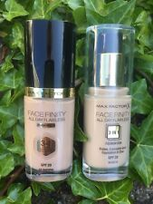 MaxFactor Face Finity 3 In1 Flawless Foundation 30 ml Choose 50 Natural 55 Beige