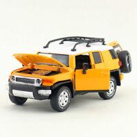 1:32 Toyota FJ Cruiser SUV Die Cast Modellauto Spielzeug Model Ton Licht Gelb