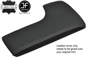 GREY STITCH REAL LEATHER ARMREST LID COVER FITS LEXUS IS350 IS 350 2014-2017
