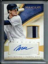 Wil Myers 2014 Immaculate Collection Autograph Game Used Jersey #19/20