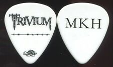 TRIVIUM 2011 In Waves Tour Guitar Pick!!! MATT HEAFY custom concert stage Pick