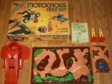 Vintage 1976 Kenner Ttp Motocross Race Set Partially Complete