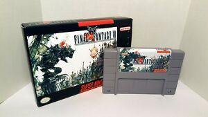 Final Fantasy VI 6 - English Translation SNES NTSC US/CA SMT