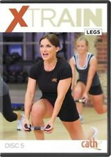 CATHE FRIEDRICH XTRAIN LEGS AND REAR DELTS DVD EXERCISE WORKOUT NEW SEALED