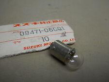 Suzuki NOS AC100, AS50, A100, FA50, FS50, Bulb 6V 1.7W, # 09471-06001   S-32